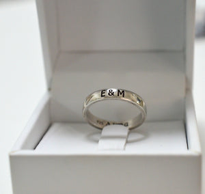 Simple Name Ring - AlmaJewelryShop