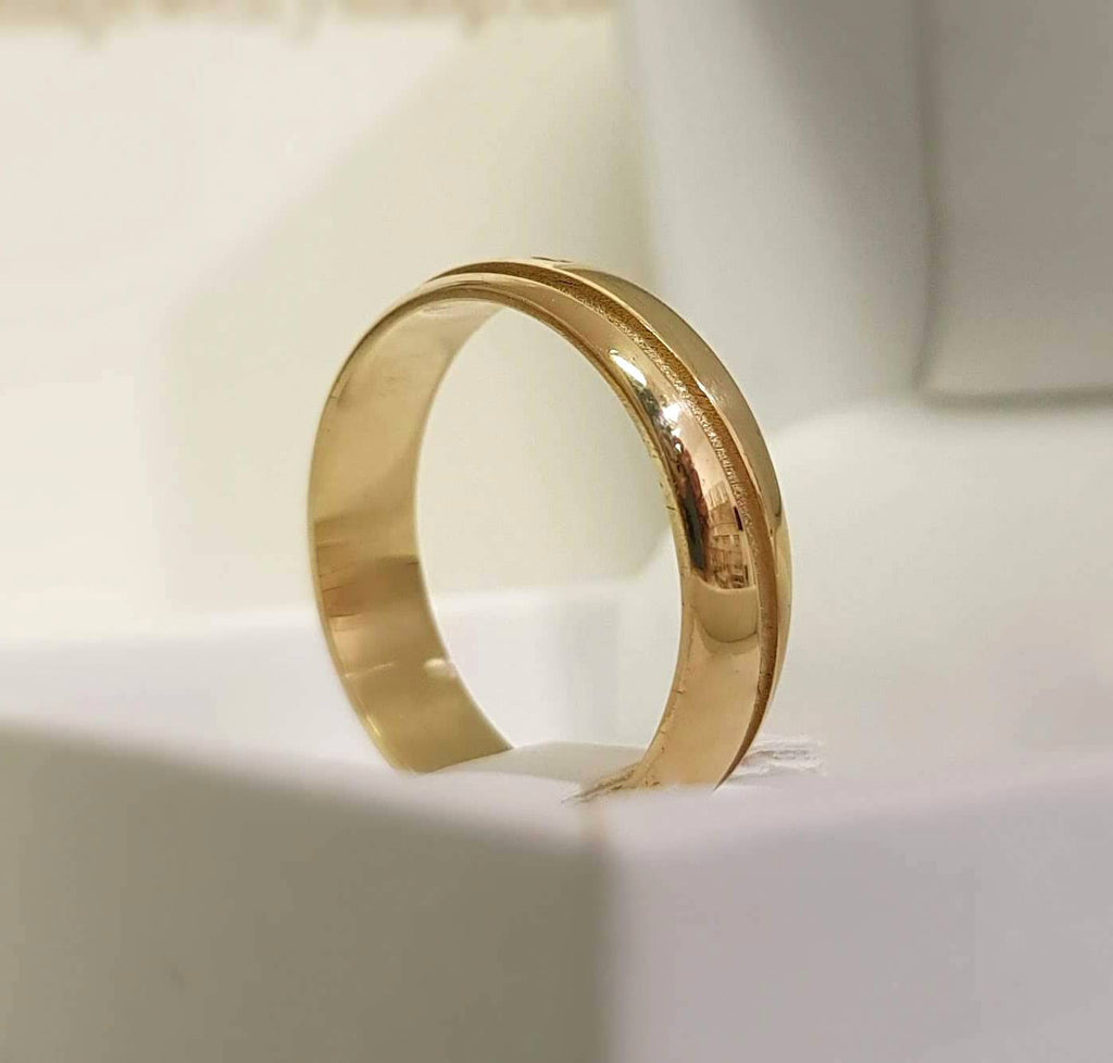 Bespoke gold ring, 585K gold Ring, Personalized Ring, 14k gold ring - AlmaJewelryShop