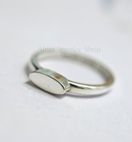 Delicate Silver Ring, Personalized Ring, Simple ring