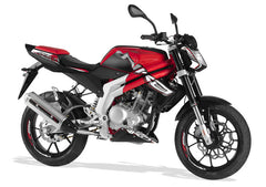RS3 Naked 125 Red 2013-15