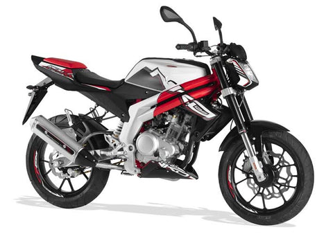RS3 Naked 125 White 2013-15