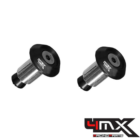 4MX Handlebar Bar End Caps Black