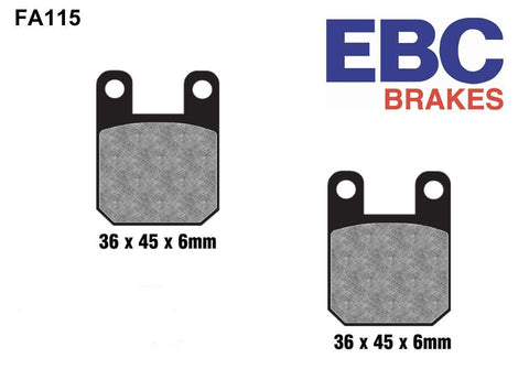 EBC FA115 High Performance Brake Pads