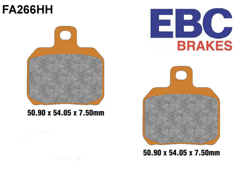 EBC FA266 Sintered High Performance Brake Pads