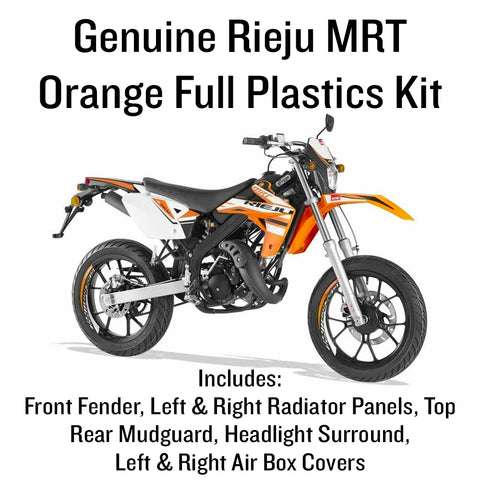 Rieju MRT Full Plastics Kit - Orange