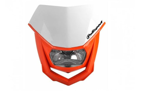 Polisport Orange Halo Headlight