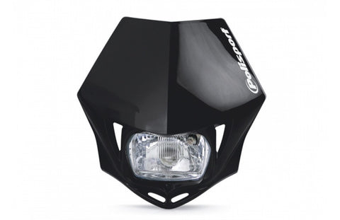 Polisport Black MMX Headlight