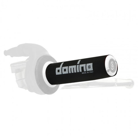 Domino Black Handlebar Grip Cover