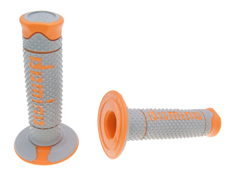 Domino Grey/Orange Offroad Grips