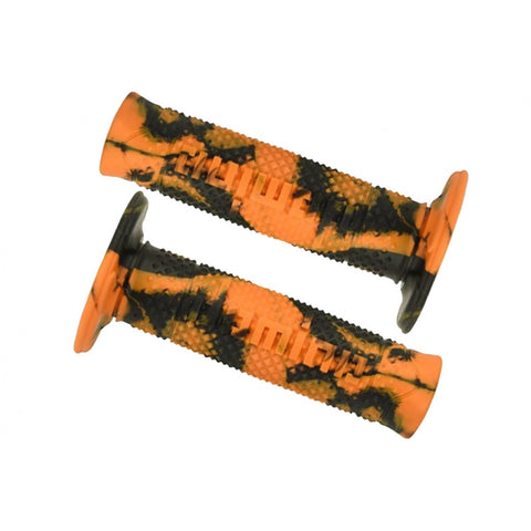 Domino Snake Orange/Black Grips