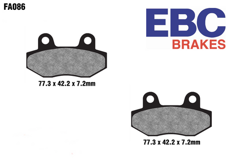EBC FA086 High Performance Brake Pads