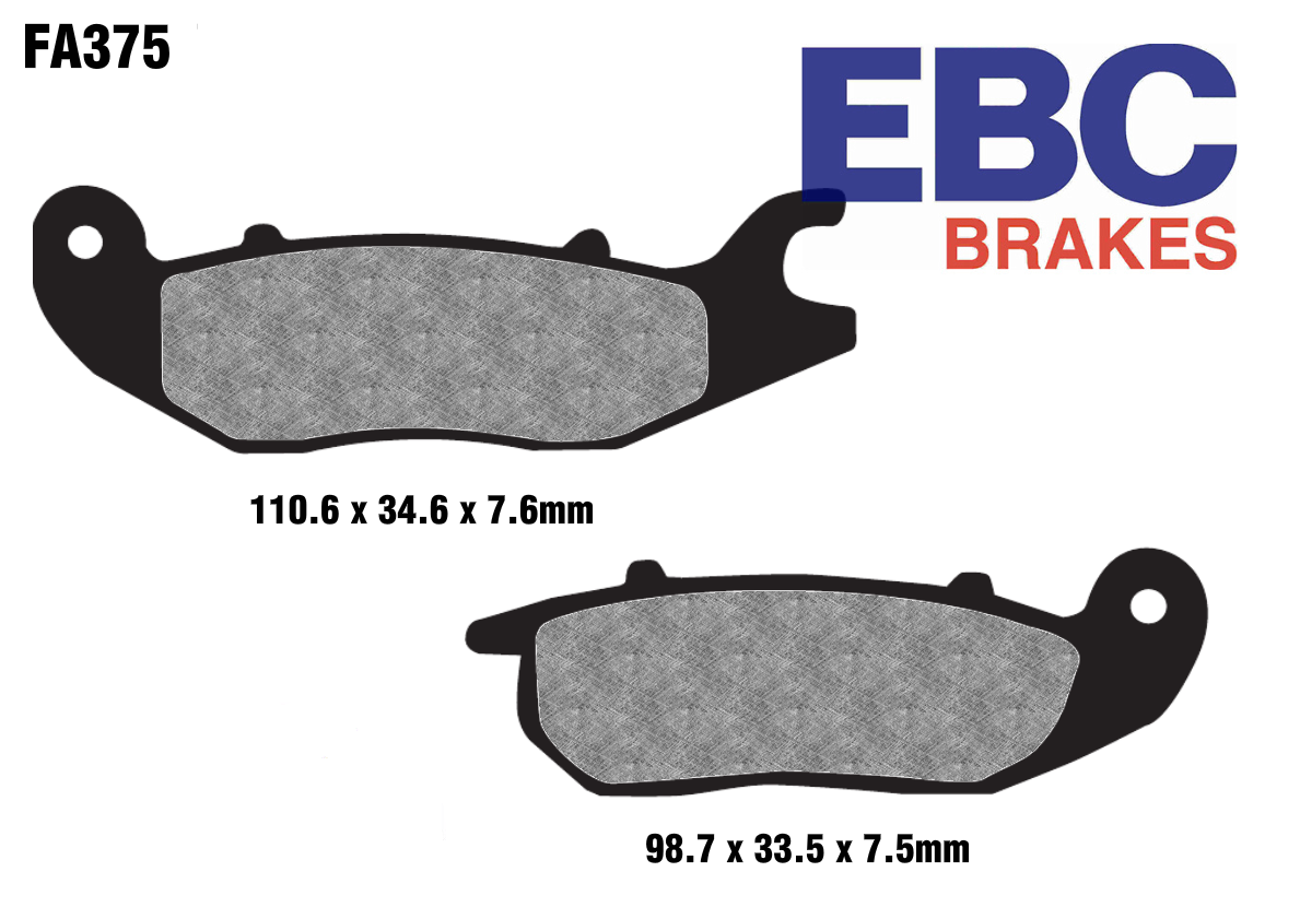 EBC FA375 High Performance Brake Pads
