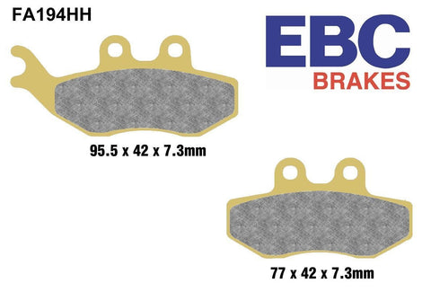 EBC FA194HH High Performance Brake Pads