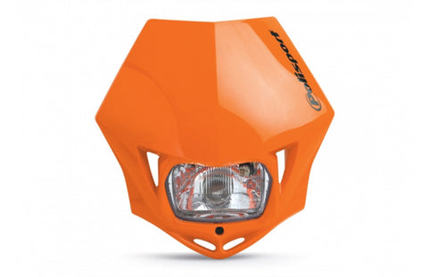 Polisport Orange MMX Headlight