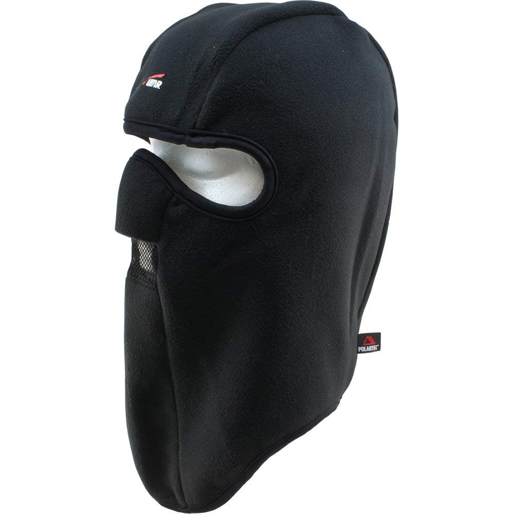 Black Polartec Motorcycle Balaclava