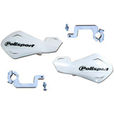 Polisport Free Flow Handguards with Alloy Brackets