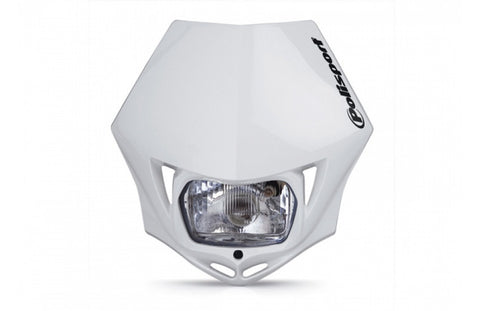 Polisport White MMX Headlight