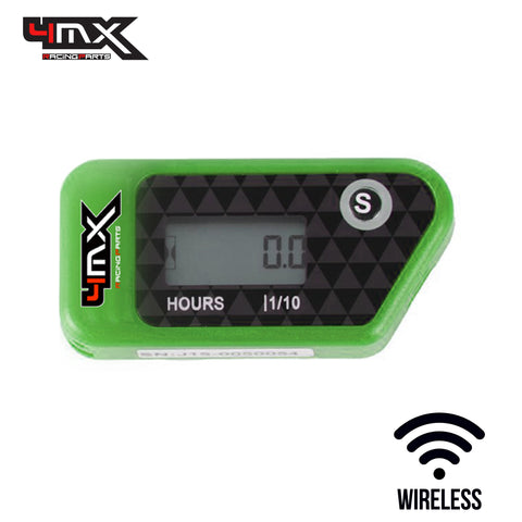 4MX Green Wireless Engine Hour Meter