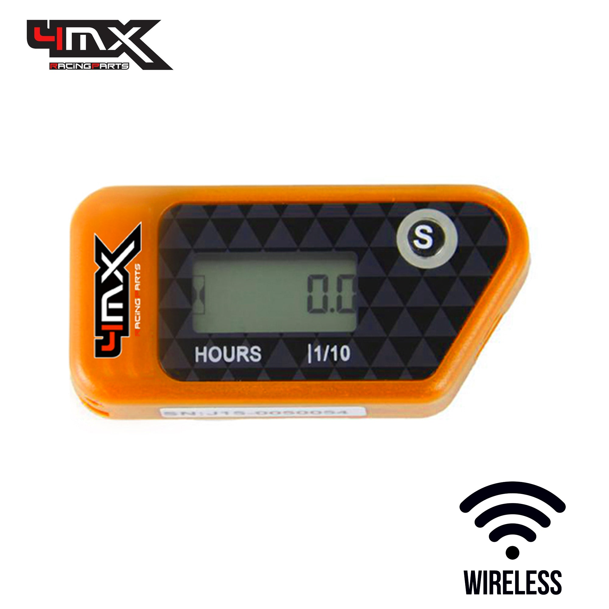 4MX Orange Wireless Engine Hour Meter