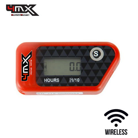4MX Red Wireless Engine Hour Meter