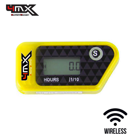 4MX Yellow Wireless Engine Hour Meter