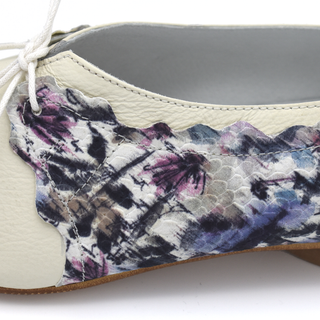 Mila flats in Floral print