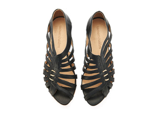 Gilly sandals, Black