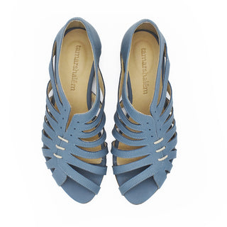 Gilly sandals in Steel blue