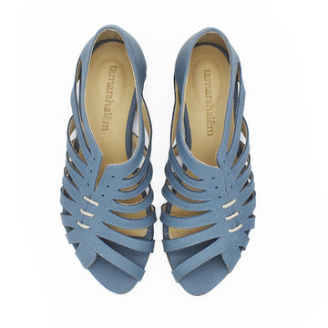 Gilly sandals in Steel blue, SUMMER PRE ORDER