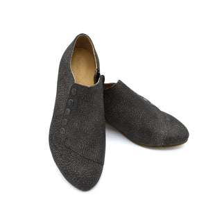 Grace shoes in brown textured leather