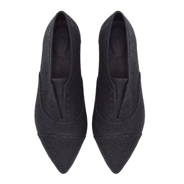 Pointed toe oxfords, Julie black