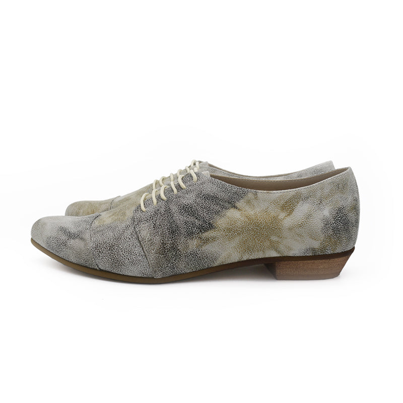 Floral Polly Jean oxfords