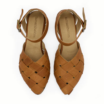 Sophie sandals, Caramel brown