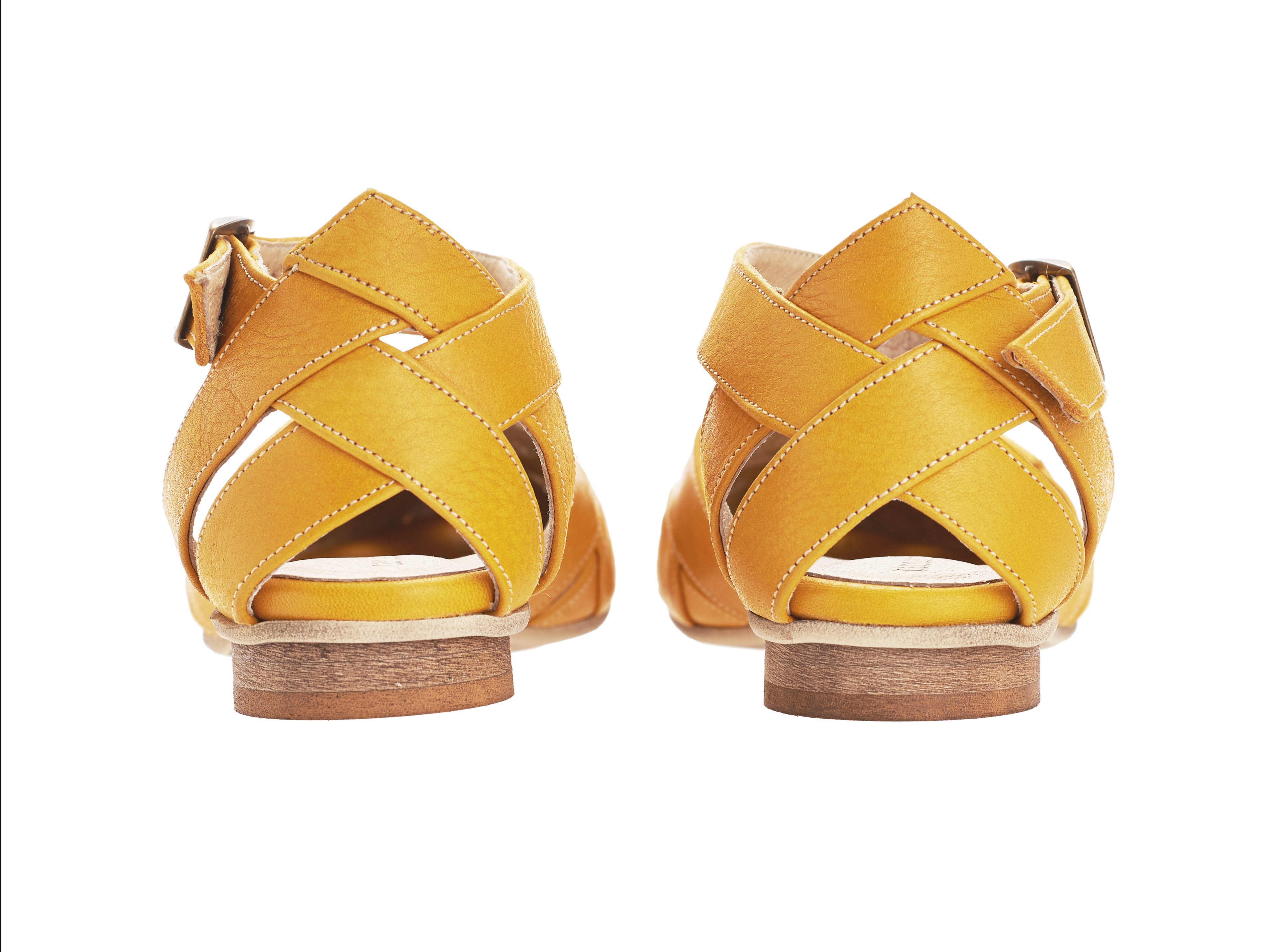 Sophie sandals, Yellow
