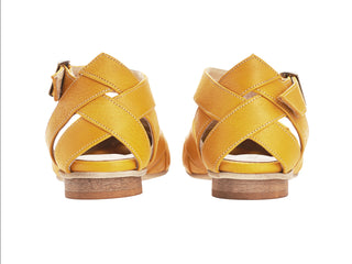 Sophie sandals, Yellow, SUMMER PRE ORDER