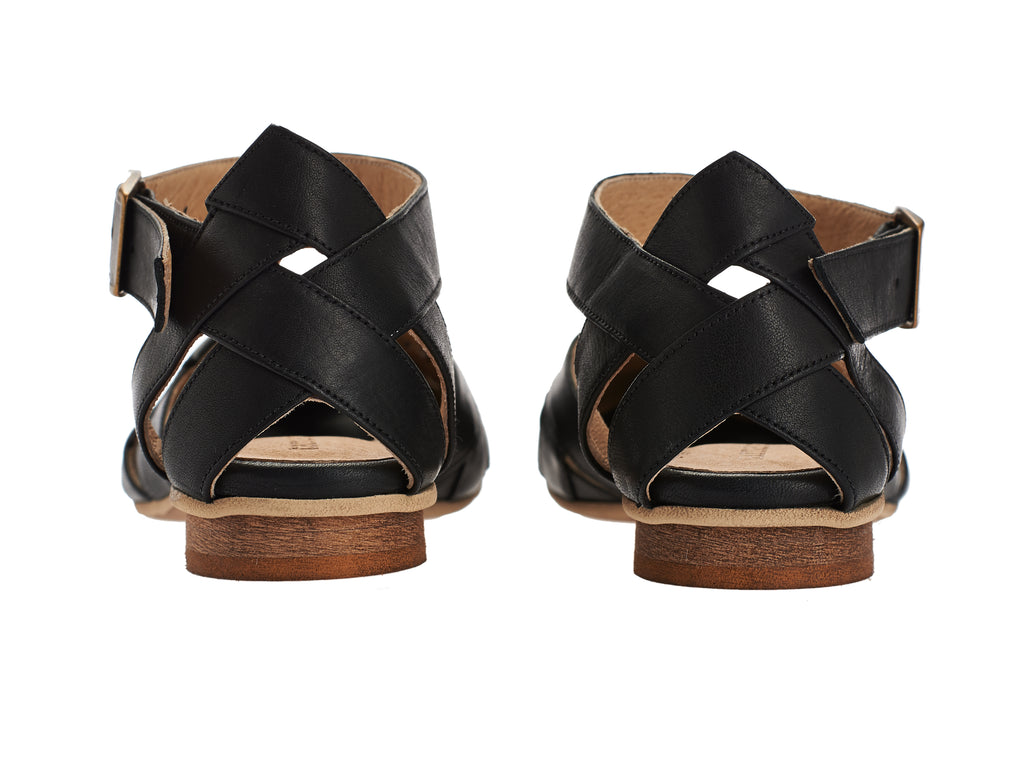 BLACK FRIDAY SALE Sophie sandals, Black