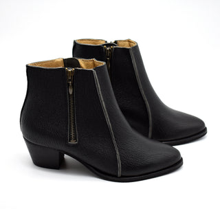 Heeled ankle boots, Sheryl in black