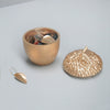jewellery storage in beautiful resin acorn design by White Moose for home decor