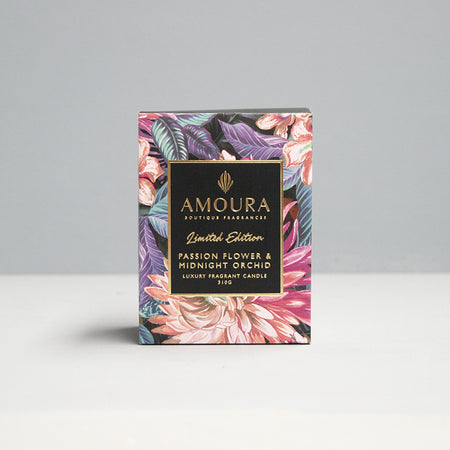 310G Candle - Passion Flower & Midnight Orchid