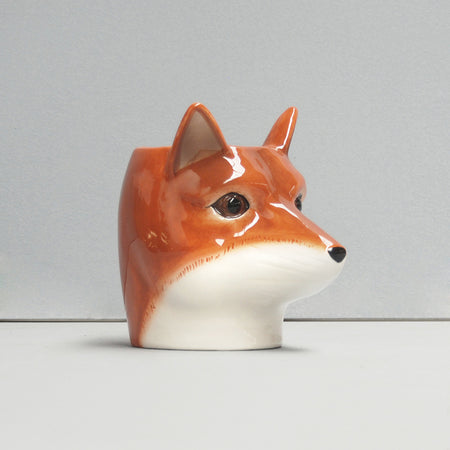 Ceramic Planter -Fox