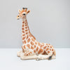 beautiful home decor resin giraffe for interior styling and kids bedroom decor by White Moose. Created from resin featuring intricate details and natural colour finish