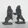 Gorilla Bookend Set - Black