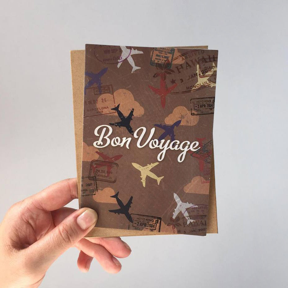 Greeting Card - Bon Voyage