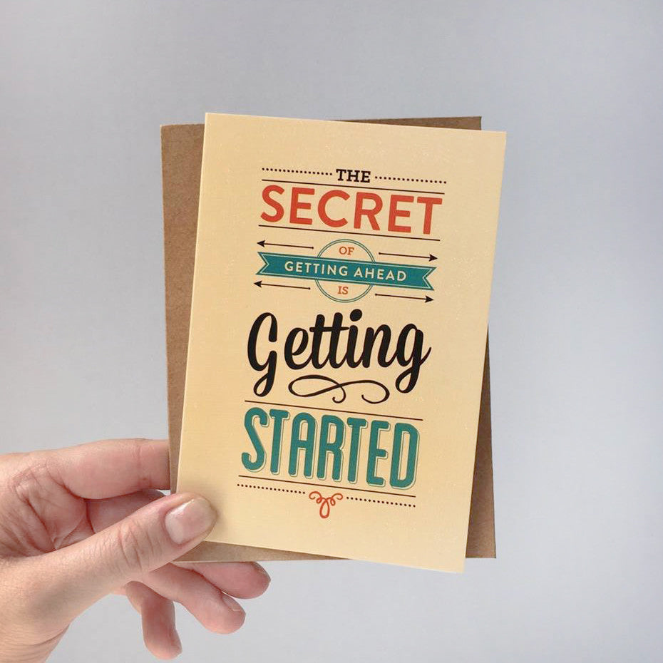 Greeting Card - The Secret