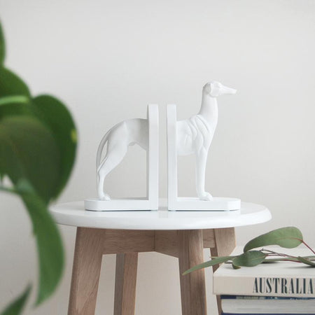 Kenny Dog Bookend - White