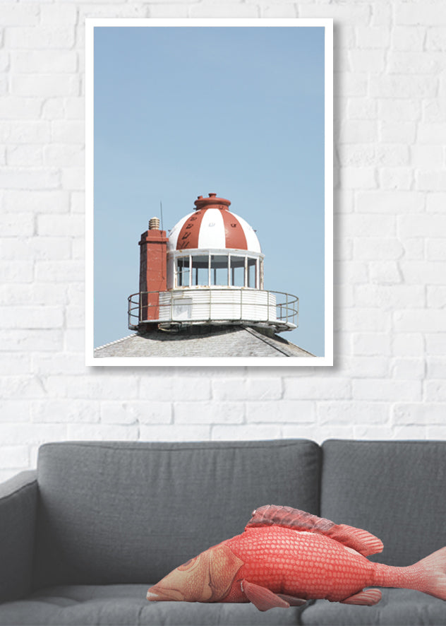 Framed Canvas Print - Lookout