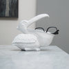 Peter the Pelican Bowl - White