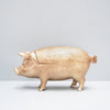 Gold resin secret pig bowl by White Moose from the homewares and home decor 2019 collection.