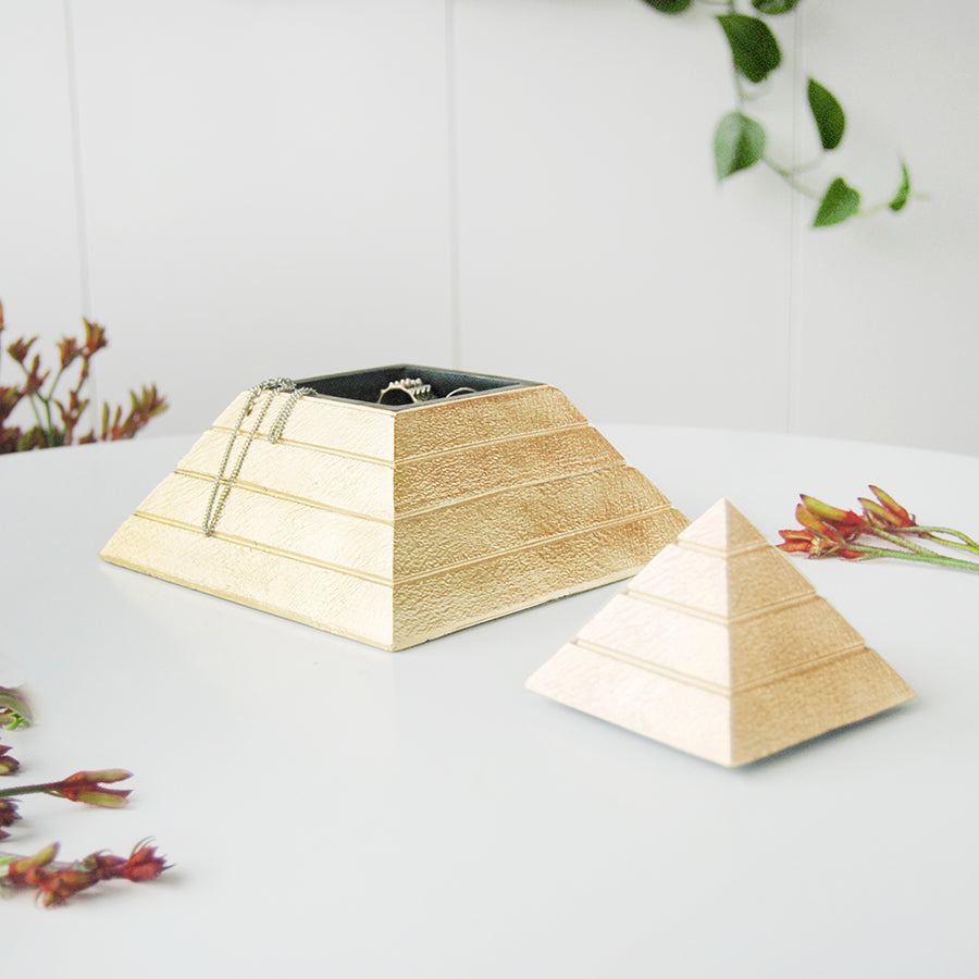 Pyramid Storage Box