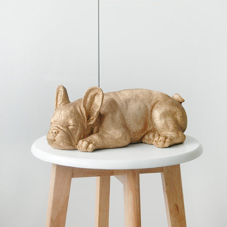 Sleeping Frenchie - Gold